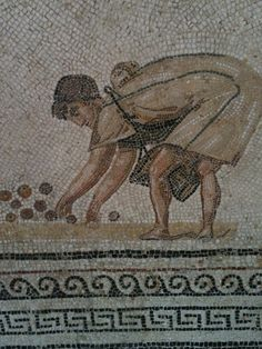 Tunisia is home to 2/3rds of the worlds roman mosaics, this is a fragment of a magnificent collection
