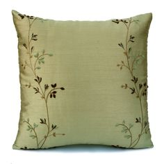 KAF Home Set of 2 100/% Feather Throw Pillow Insert for 20 x 20 Inch Pillows 22 x 22 Inches 2, 22 x 22 | Decorative Pillow Insert Perfect for 18 x 18 Inch and 20 x 20 Inch Pillow Covers