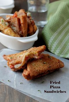 Fried Pizza Sandwiches | www.diethood.com