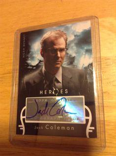 Jack Coleman Autographed Card Heroes Season 1