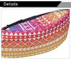 जोम Tokoy 3 डी मुद्रण महिलाओं के जिपर बैग कमर बैग फैनी पैक बम बैग पुरुषों के लिए जातीय ओम्ब्रे यात्रा बैग बोल्सा feminina 2017 Coin Purse, Purses, Wallet, Detail, Bags, Fashion, Handbags, Handbags, Moda