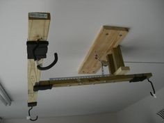 For future reference: Home Made Jeep Hardtop Hoist Jeep Jk, Jeep Wrangler Sport, Jeep Wrangler Unlimited, Jeep Wrangler Accessories, Jeep Accessories, Jeep Hardtop Storage, Jeep Hard Top, Jeep Tops, Jeep Wave