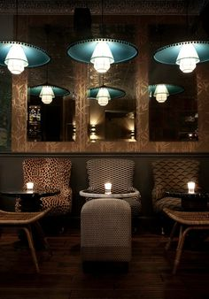 ECC Lower East Side - Cocktail Bar - interior design by Dorothée Meilichzon