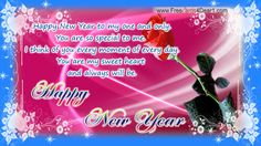 You are so special to me , Happy New Year 2014 Greeting Ecard.