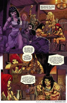 Red Sonja – Conan 001 (2015) …………………… | Viewcomic reading comics online for free
