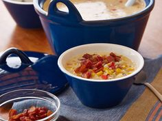 Gina's Spicy Corn Chowder Recipe : Patrick and Gina Neely : Food Network - FoodNetwork.com