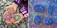 Umělkyně přetváří kameny na okouzlující mandaly