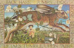 Running Hare. Kit Williams' Masquerade book.