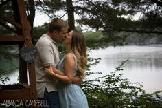 Engagement Photos - Parry Sound by way of Toronto, Ontario.  Save the Date photo ideas.