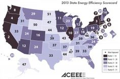 Massachusetts Most Energy-Efficient State; Mississippi Most Improved