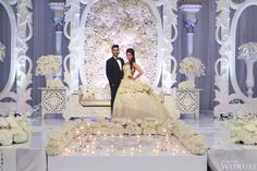 WedLuxe – A Spectacular Two-Day Indian Wedding | Photography by: Krista Fox Photography Follow @WedLuxe for more wedding inspiration!