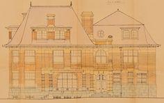 Schaerbeek - Ancienne Maternité du boulevard Lambermont, aujourd'hui Centre médical Europe-Lambermont - Rue des Pensées 1-3-5 - DE PAUW Fernand