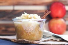Apple Spice Sauerkraut- Sweet apples cinnamon cloves ginger and cabbage. Probiotic Foods, Fermented Foods, Food Lab, A Food, Side Recipes, Raw Food Recipes, Healthy Recipes, Sauerkraut Recipes, Spiced Apples