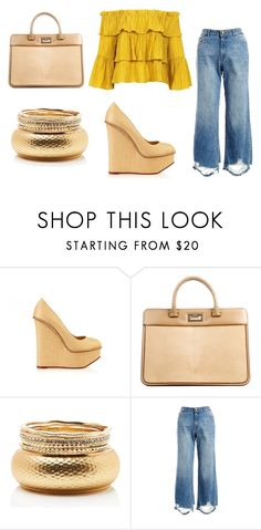 """""""i fall in love with justin"""" by mar-01 on Polyvore featuring moda, Charlotte Olympia, MaxMara, Forever New, DL1961 Premium Denim y Sans Souci"""