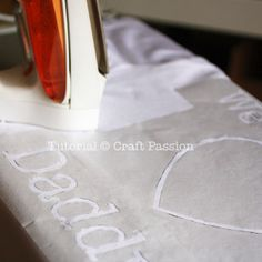 Freezer Paper Stencil Tutorial.  Oh good, I have lots of freezer paper!