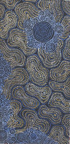 Sarrita King / Waterholes Aboriginal Art – Buy Authentic Australian Indigenous Artworks and Paintings Aboriginal Art Australian, Indigenous Australian Art, Indigenous Art, Aboriginal Dot Painting, Aboriginal Artists, Aboriginal Culture, Art Abstrait, Native Art, Art Plastique