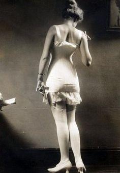 Lingerie pose Charles Gates Sheldon 1920s