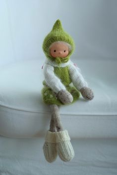 A personal favorite from my Etsy shop https://www.etsy.com/listing/267921215/handmade-art-doll-knitted-doll-joy-14-by