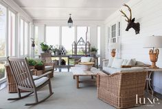 29 Light-Filled Sunrooms Worth Coveting | LuxeDaily - Design Insight from the Editors of Luxe Interiors + Design