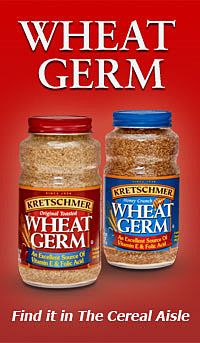 Kretschmer Wheat Germ is packed with protein, vitamin E, folic acid, and zinc. Add a healthy crunch to any recipe, or sprinkle wheat germ on yogurt or oatmeal. Heart Healthy Recipes, Real Food Recipes, Snack Recipes, Yummy Food, Snacks, Delicious Recipes, Prebiotics And Probiotics, Vegan Smoothies, Green Smoothies