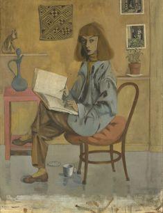 ELAINE DE KOONING SELF-PORTRAIT by Elaine de Kooning, 1946