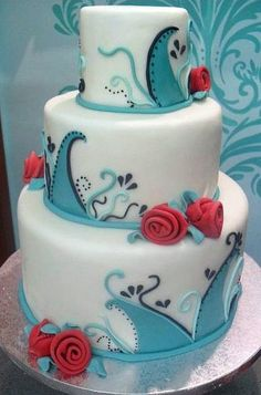 Yummy Cake! Www.anna Veranstaltet,de | Real: Modern Babyparty | Pinterest |  Yummy Cakes And Kuchen