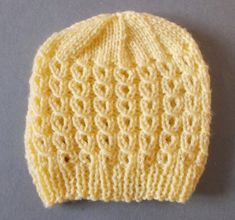 Ravelry: Robson Baby Hat pattern by marianna mel