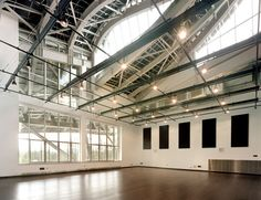 Felicitas S. Thorne Dance Studio | The Richard B. Fisher Center for the Performing Arts at Bard College | Frank Gehry