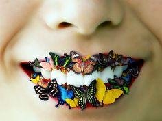 #Lips #Butterfly #Butterflies #Colorful #Statement #AJB