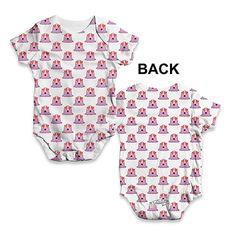 Splat Comic Book Baby Unisex Funny ALL-OVER PRINT Baby Grow Bodysuit