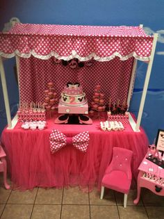 Minnie Mouse Birthday Party Ideas | Photo 1 of 13 | Catch My Party