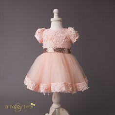 Princess Laura Dress - Itty Bitty Toes  - 6
