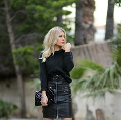 Leather Skirt, How To Make, How To Wear, My Style, Fall, Skirts, Fashion, Summer, Autumn