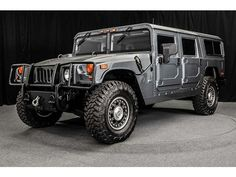 Hummer H1. The real Hummer.