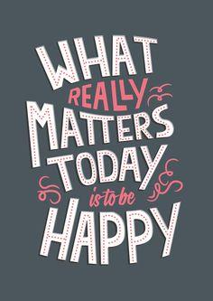 Be happy ★ iPhone wallpaper