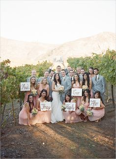 Must Take Wedding Photos With Your Bridesmaids ❤︎ Wedding planning ideas & inspiration. Wedding dresses, decor, and lots more. Wedding Poses, Wedding Signs, Wedding Ideas, Trendy Wedding, Wedding Themes, Wedding Venues, Best Wedding Colors, Wedding Album, Wedding Attire