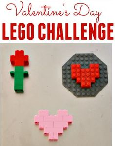 Seasonal Activity of the Week: Valentine's Day Lego Challenge - pinned by @PediaStaff – Please Visit  ht.ly/63sNt for all our pediatric therapy pins