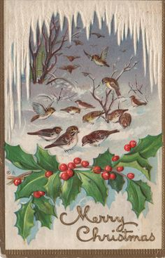 pi ned from http://lmelohn.blogspot.com/2009/12/vintage-christmas-post-cards_5592.html