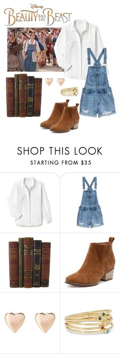 """""""Beauty and the Beast"""" by windrasiregar on Polyvore featuring Disney, Lacoste and Jennifer Meyer Jewelry"""