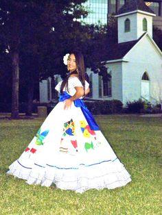 traje tipico de El Salvador