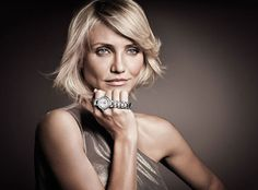 Has anyone been to the Vegas Airport lately? Cameron Diaz is OWNING it right now. The funny part is, she never actually seems to wear the watch she is trying to advertise.