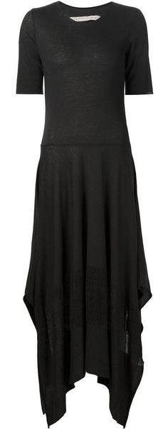 black handkerchief long dress <3
