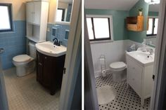 Diy bathroom remodel ideas for average people diy - Diy bathroom remodel before and after ...