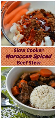 stew slow cooker slow cooker spiced chicken stew with carrots recipes ...