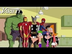 miren lo q me encontré...opinen  Phineas and Ferb - Mission Marvel Episode Trailer