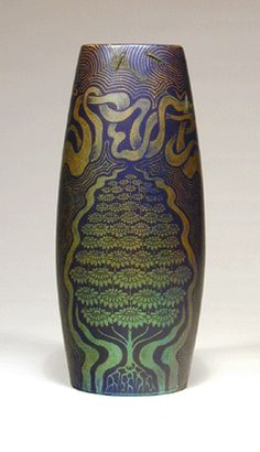Zsolnay porcelain vase