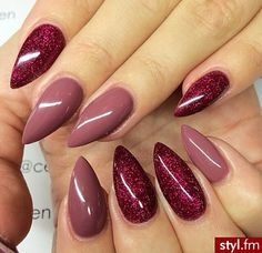 Love the colors..don't care for the shape of the nails