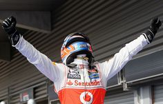 Jenson Button celebrates victory in parc ferme | Formula 1 photos | ESPN F1