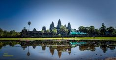 Angkor Wat, Siem Reap, Cambodia. Was first a Hindu, then subsequently, a Buddhist temple complex in Cambodia and the largest religious monument in the world.by Weisser  Photography  on 500px