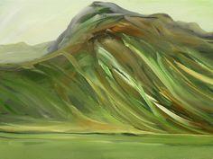 """Velvet Hills"" - painted in Ashcroft B.C. by Marie Nagel - marienagel.com facebook.com/marienagelart"